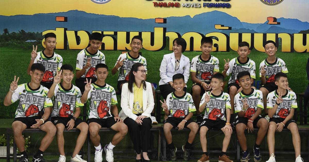 thai soccer team speaks out on cave survival and rescue