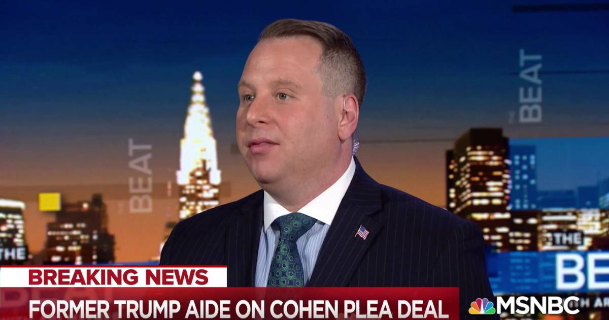 Sam Nunberg: We knew Cohen would be 'handling' payments to women