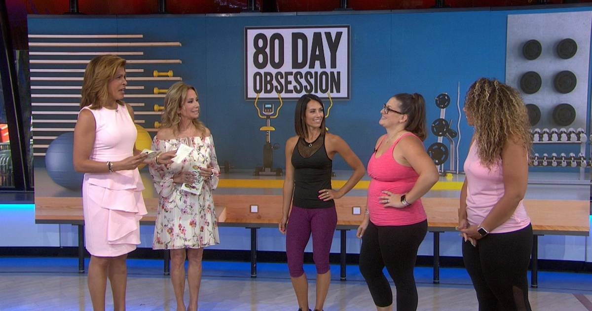 Kathie Lee and Hoda check in with the 80-Day Obsession ...