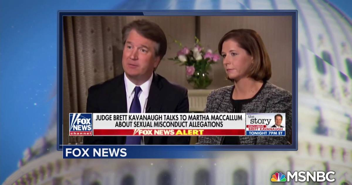 Kavanaugh tells Fox News: 'I'm not going anywhere'
