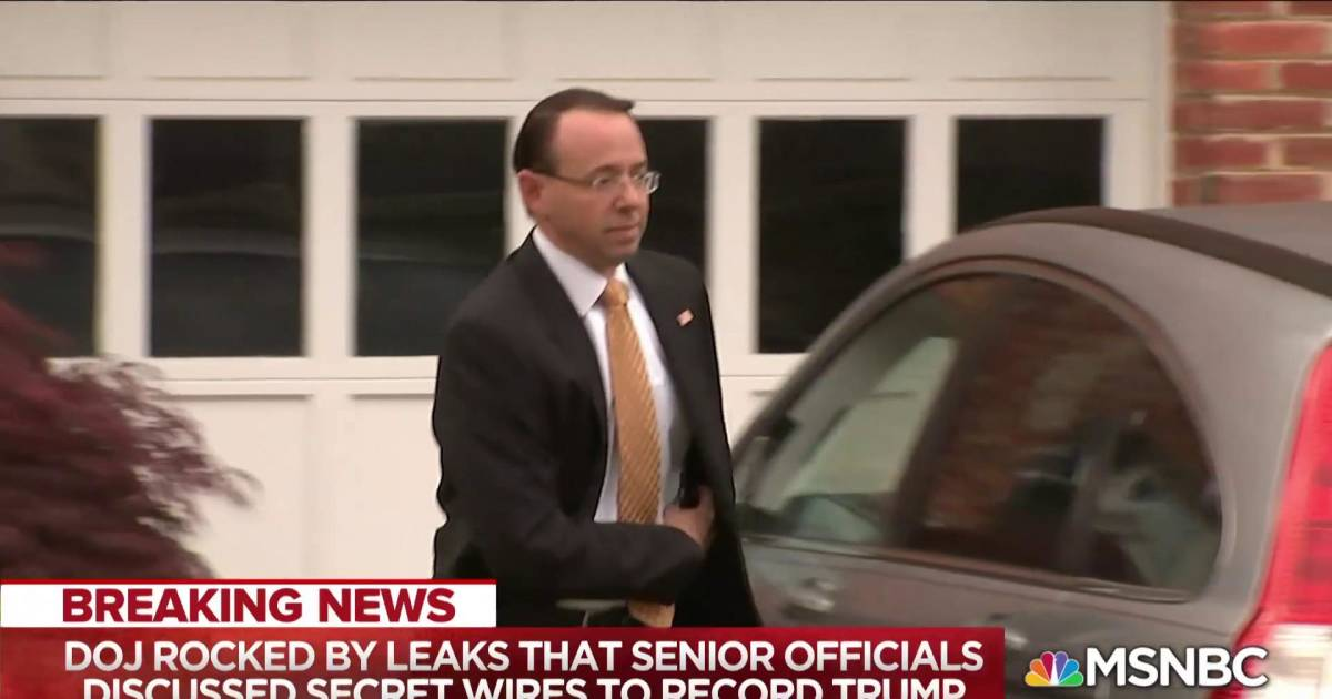After Manafort and Cohen flip, new leaks attack Mueller's boss