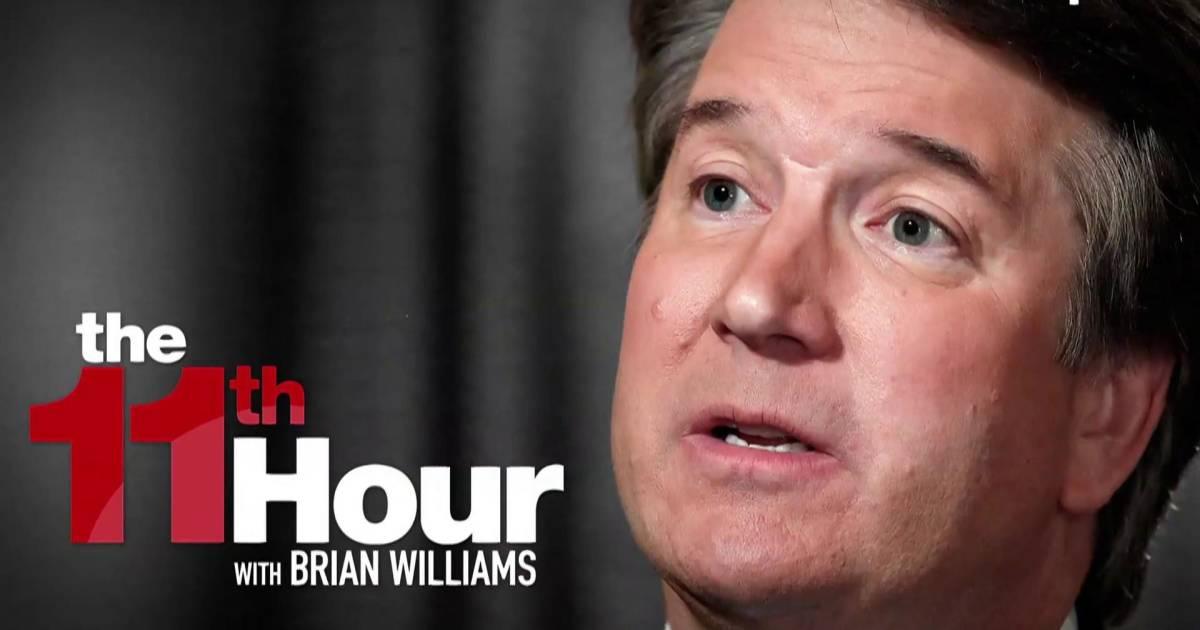 GOP slots cmte. vote on Kavanaugh before hearing from his accuser