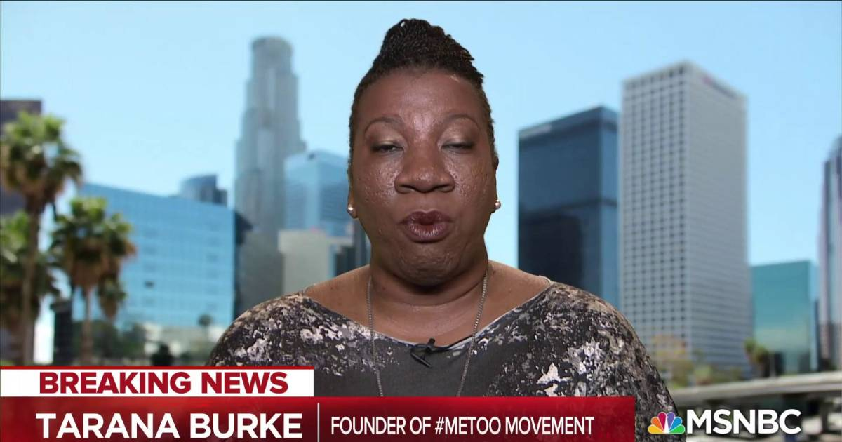 Tarana Burke: It's a dangerous narrative to not include Kavanaugh's accuser in the #MeToo Movement