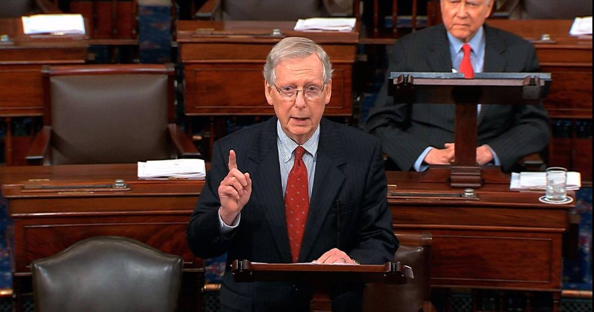 Mitch Mcconnell Comments On The Newest Allegations Against