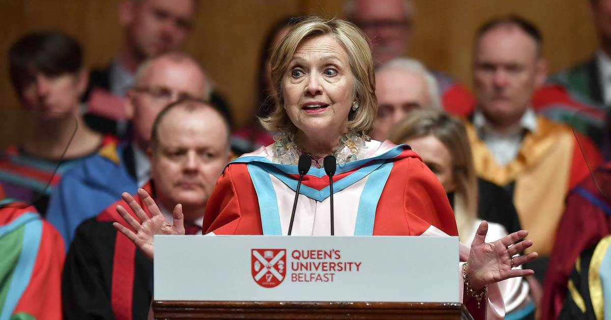 Hillary Clinton blasts Brexit as 'self-inflicted wound'