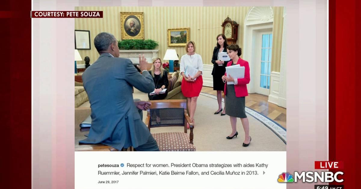 Pete Souza: Trump disrespects office of presidency