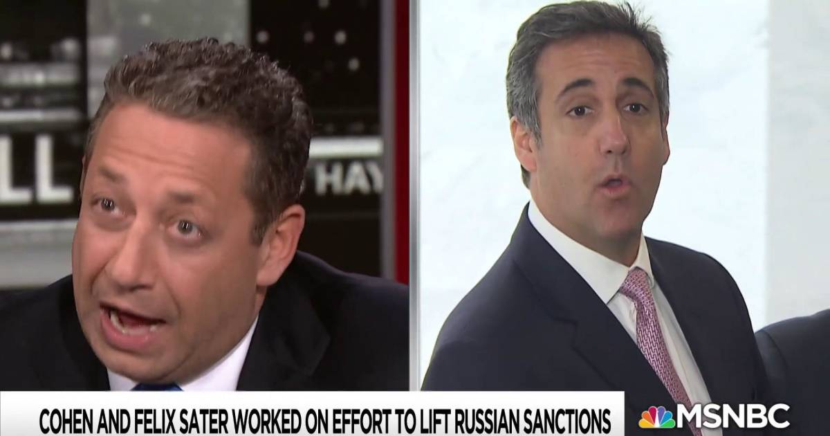 Lifting Russian sanctions key to Trump deal exposed by Cohen