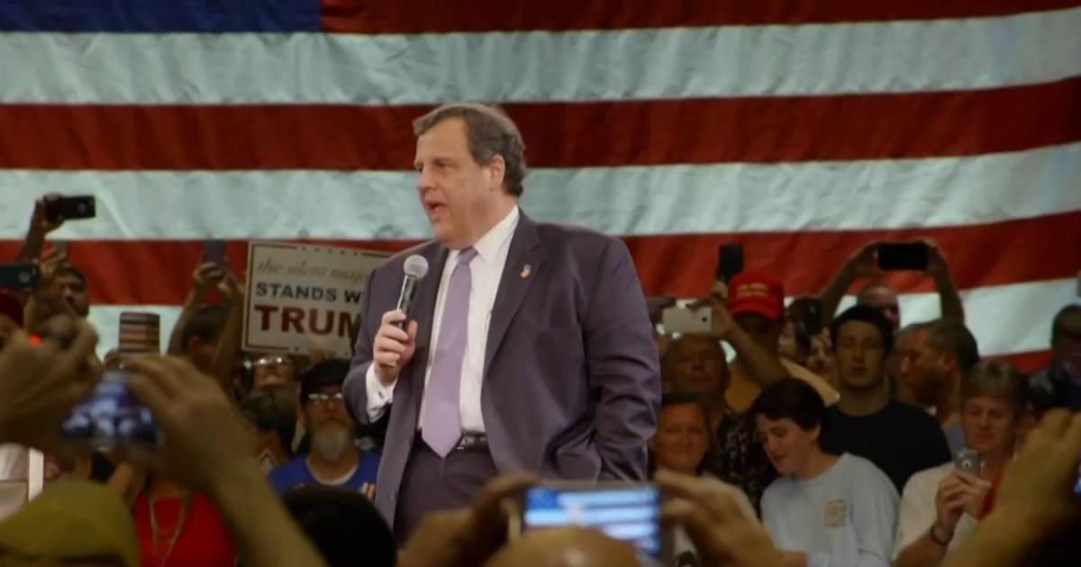 Former Gov. Christie under consideration for AG post
