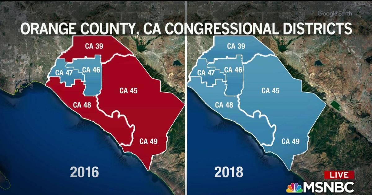Republicans lose 'Reagan Country' in Orange County