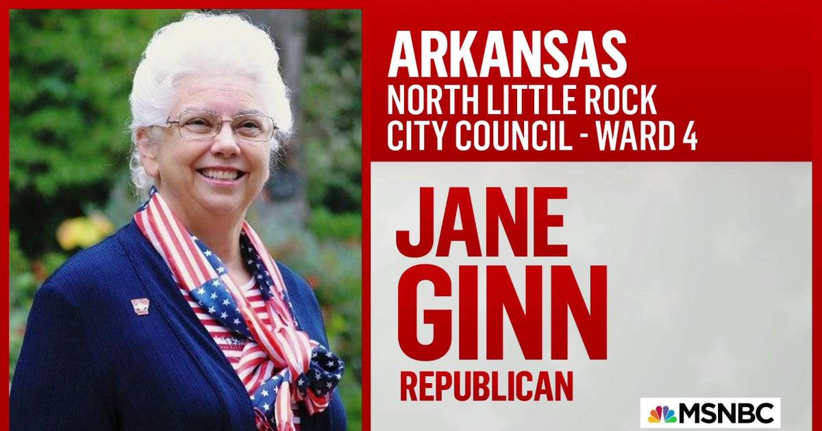 Congratulations to City Council member-elect Jane Ginn!