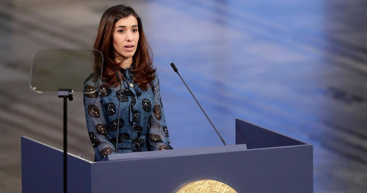 Nobel Peace Prize laureate calls on world to protect women from sexual violence