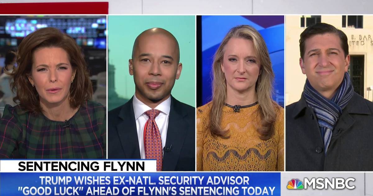 Michael Flynn Sentenced Today For Lying To Federal