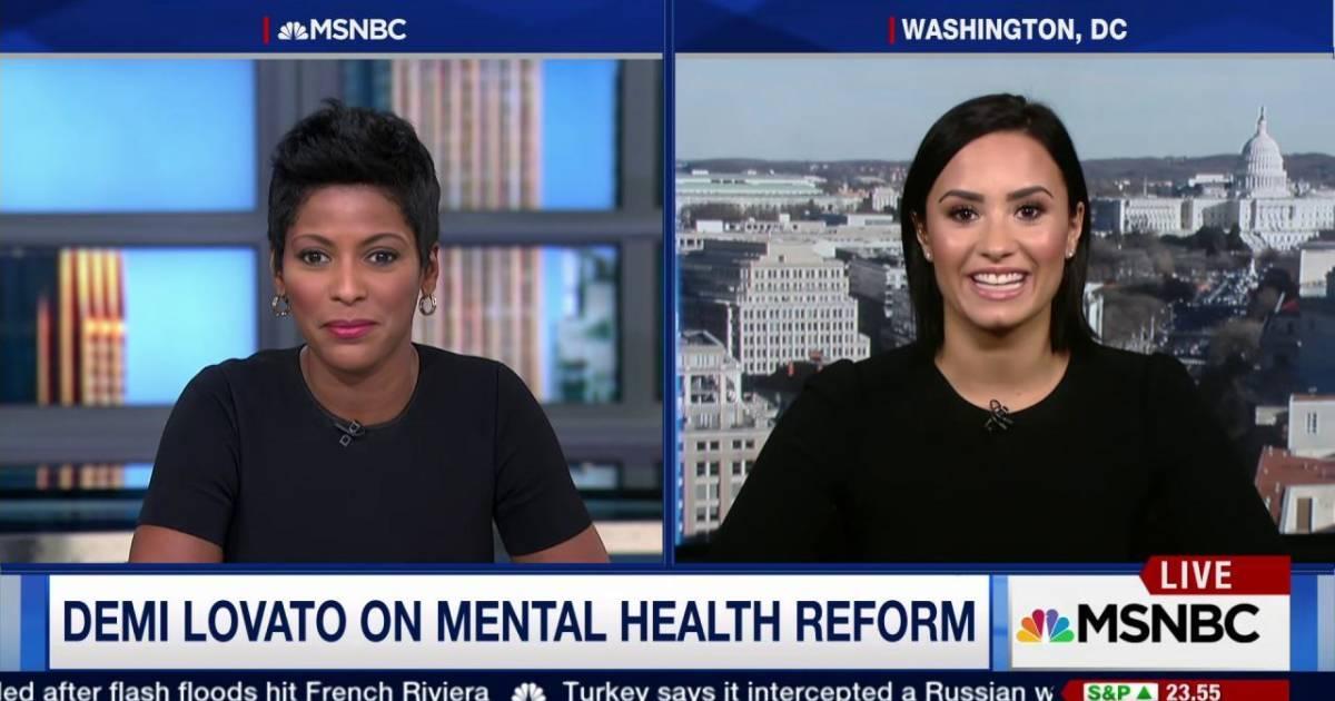 Lovato demi mental health initiative