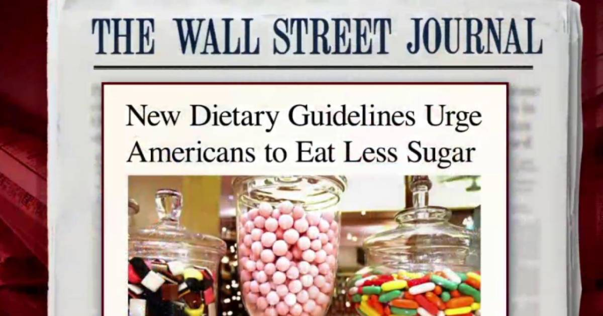new guidelines for sugar intake