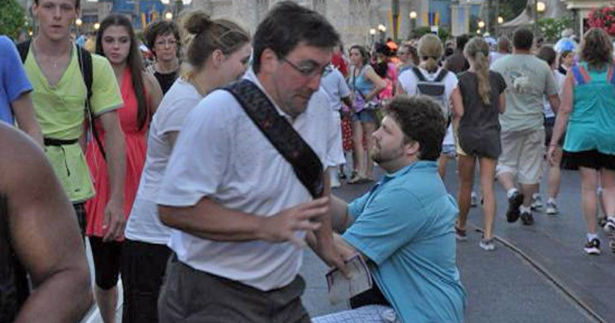 In The Way Guy Becomes Internet Meme After Wedding Proposal