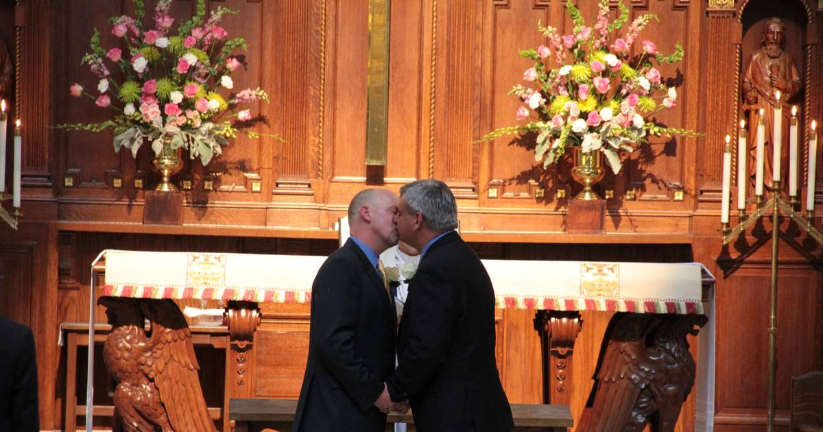 HOST gay wedding couple Search