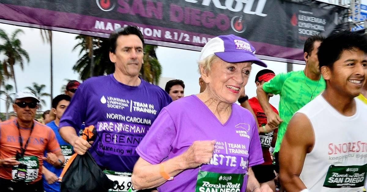 91-Year-Old Breaks 2 Records at San Diego Marathon