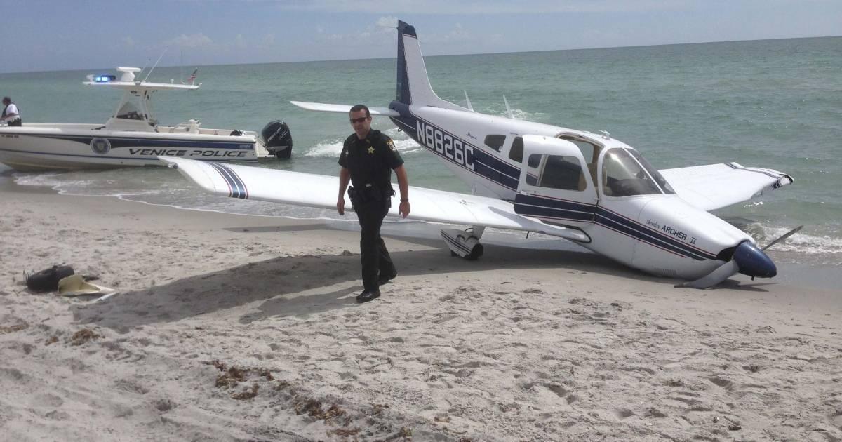 Airplane Crashes on Florida Beach, Killing One