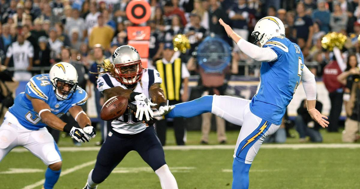 Brady Patriots Rally Past Chargers To Stay Atop Afc