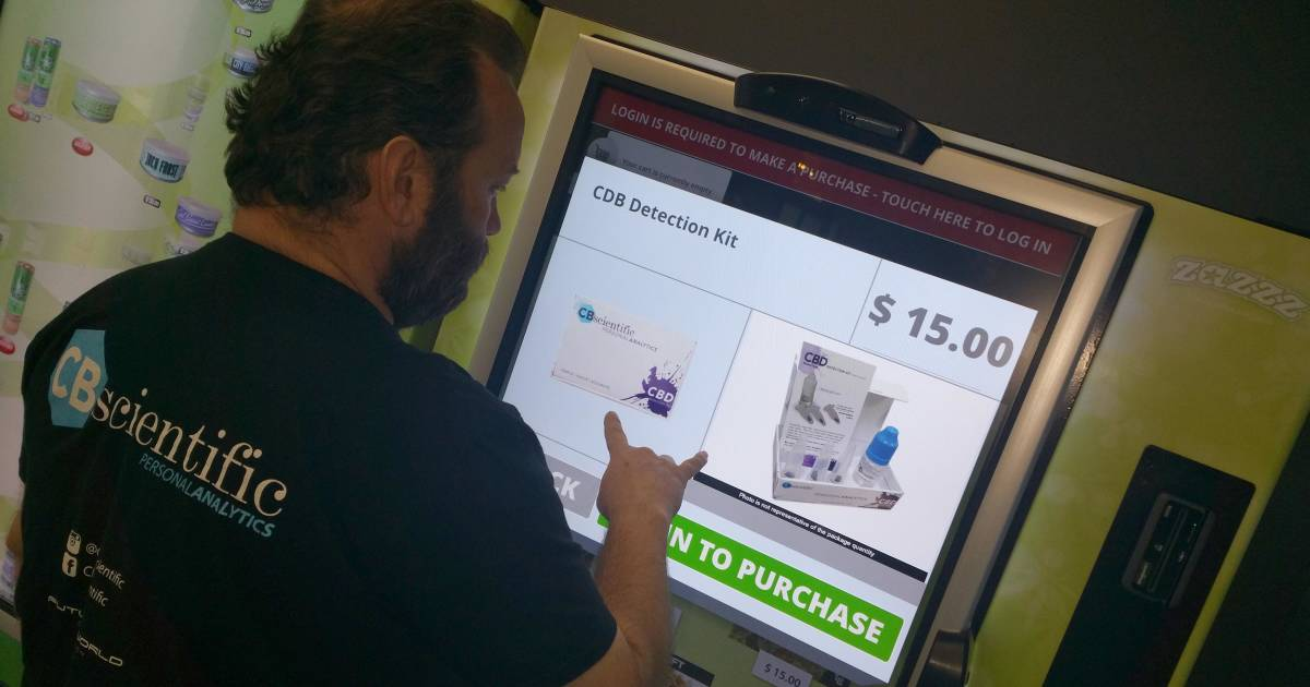 A Marijuana First: Pot Vending Machines Dispense Weed