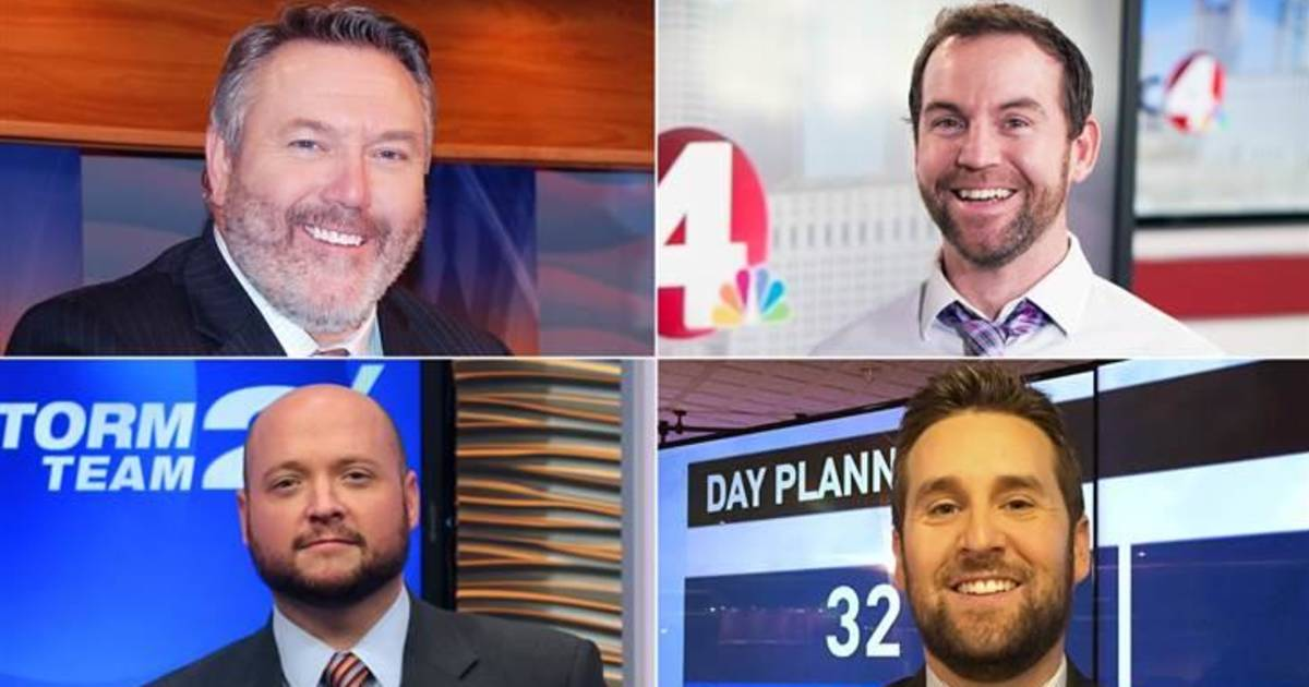 Local Nbc Anchors Join No Shave Today Which Beard Is Your