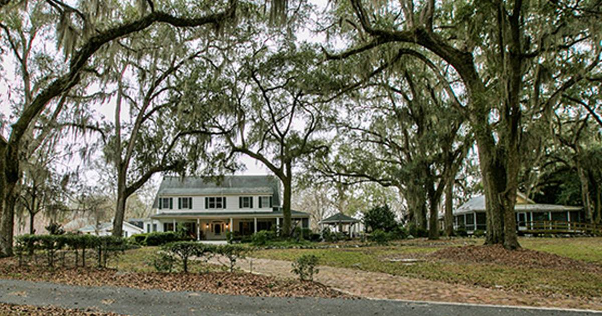 See This Expansive Florida Plantation That S On The Market