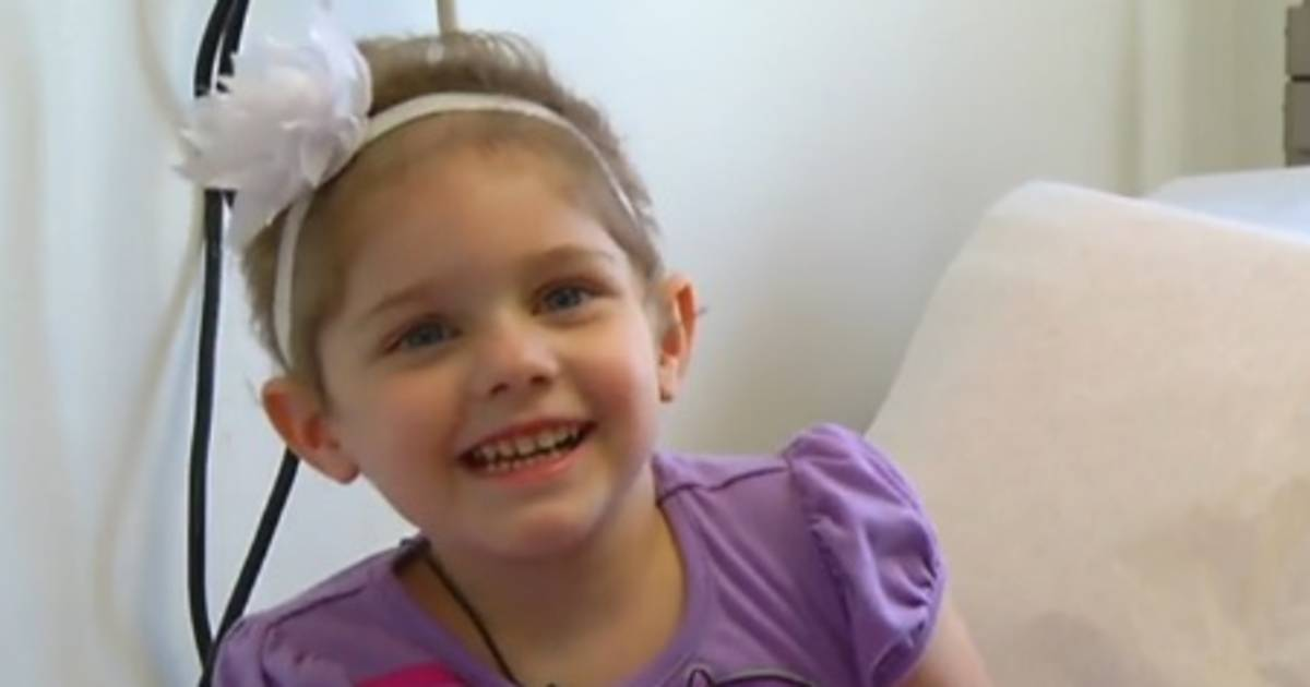 4-Year-Old Cancer Patient 'Marries' Man of Her Dreams