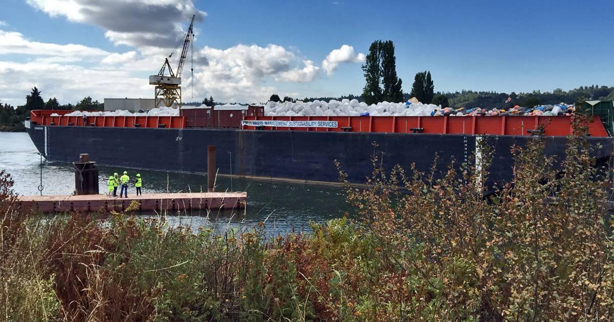 Barge Brings Tons of Tsunami Debris to Seattle
