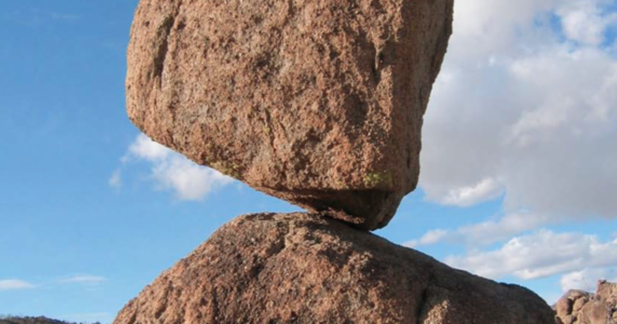 Why 10,000-Year-Old Gravity-Defying Rocks Haven't Toppled