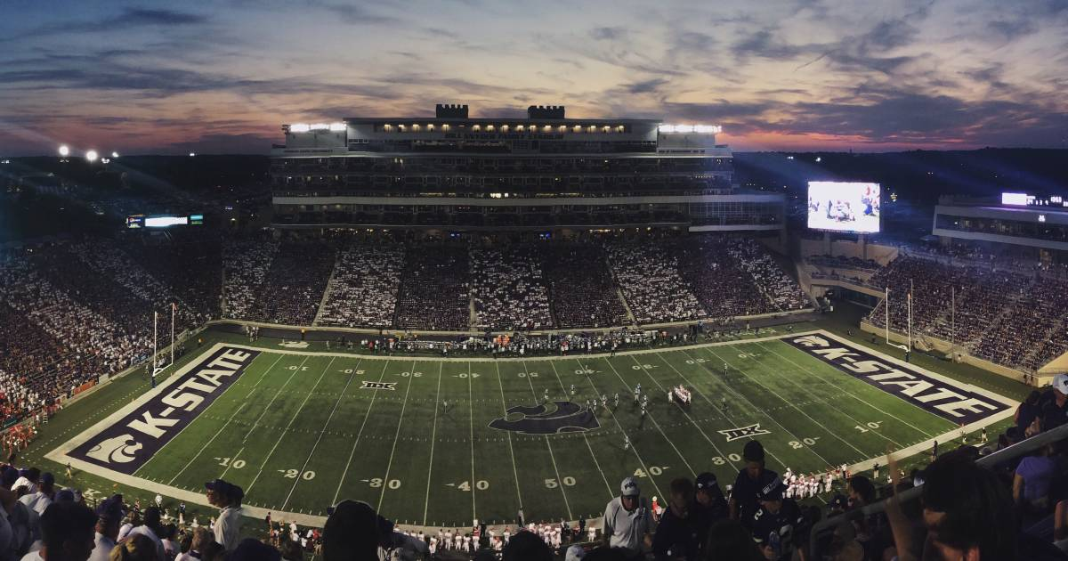 Kansas State Marching Band Sorry for NSFW Halftime Show