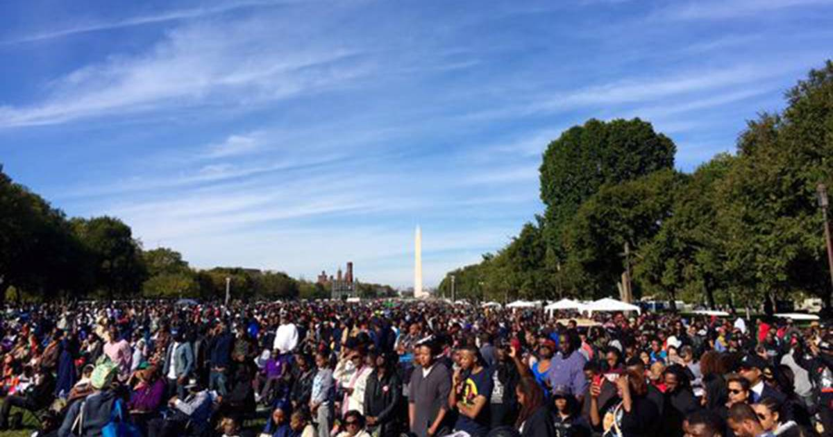Thousand Gather For Million Man March 20th Anniversary In D C