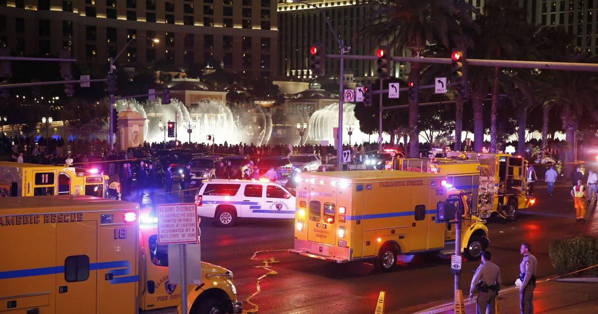 Las Vegas Sidewalk Crash: One Dead, Dozens Hurt in 'Intentional Act'