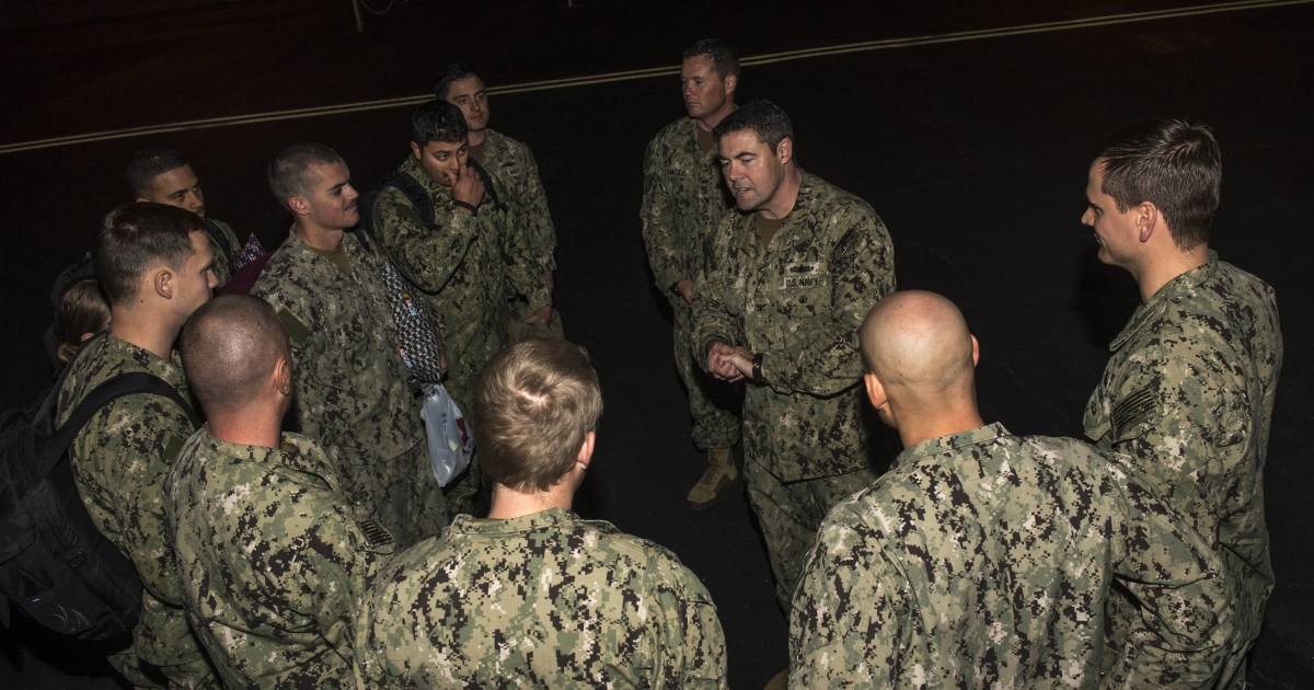 U.S. Navy Sailors Detained by Iran Arrive Home in San Diego