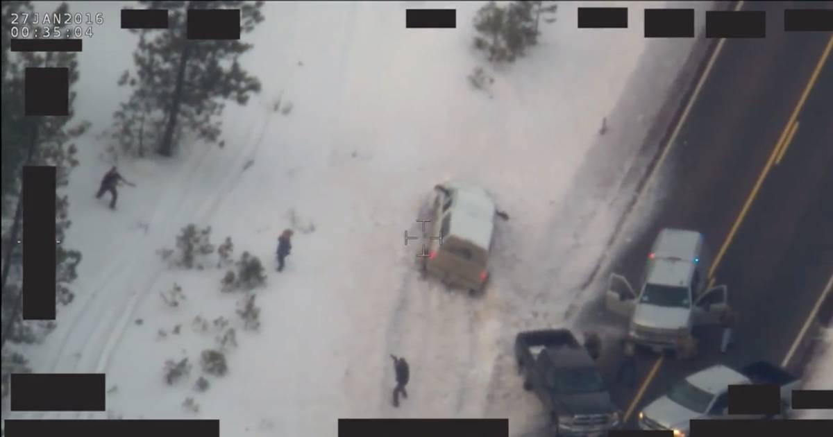 "FBI Releases Video of Oregon Occupier ""LaVoy"" Finicum's Fatal Shooting"
