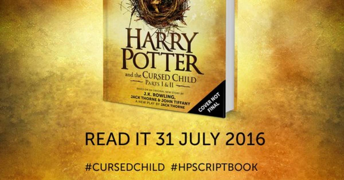 Harry Potter Book Release Dates : New harry potter book script of upcoming play gets