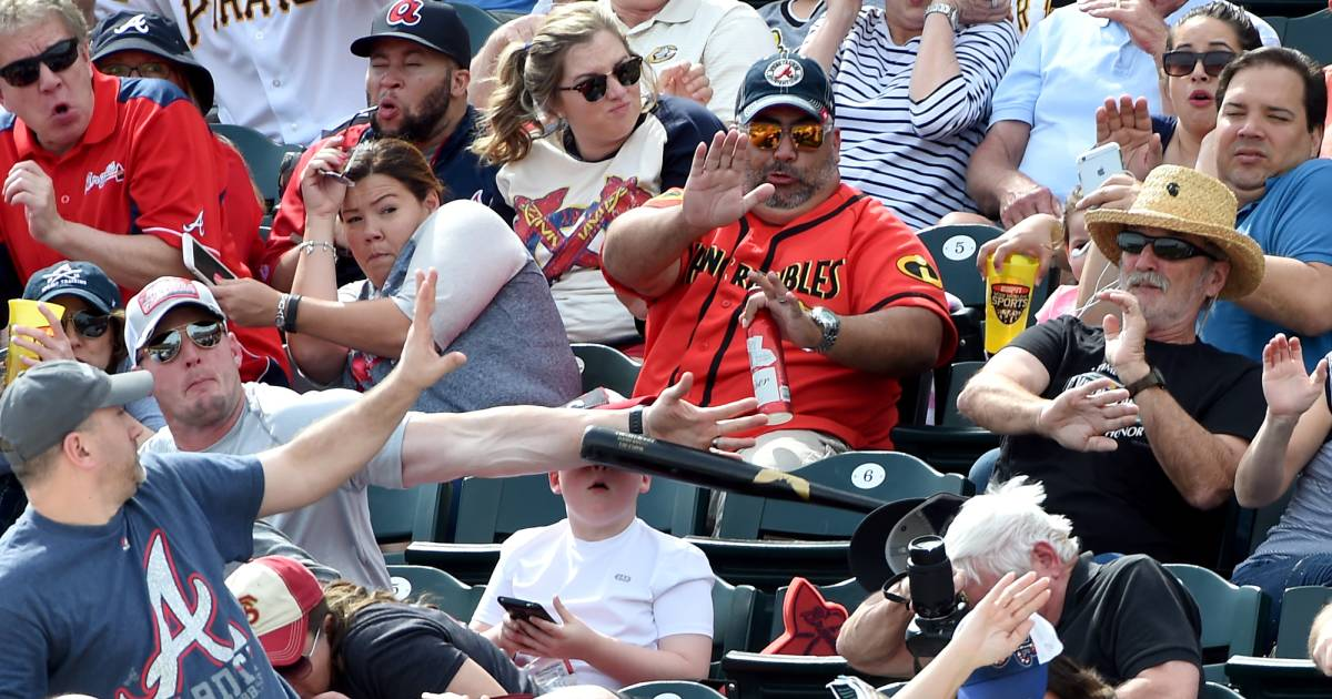 Fan Saves Boy From Getting Struck by Flying Bat at Pittsburgh Pirates Game