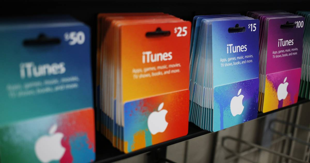 fraud alert scammers get victims to pay with itunes gift cards. Black Bedroom Furniture Sets. Home Design Ideas