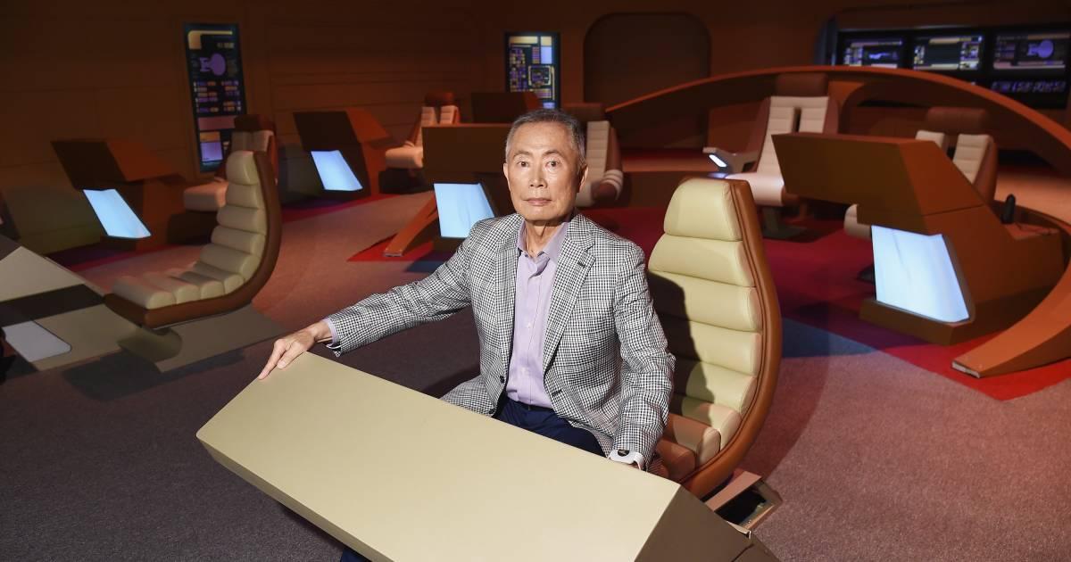 'Star Trek' star George Takei says sci-fi can be 'a trailblazer' for social chan...