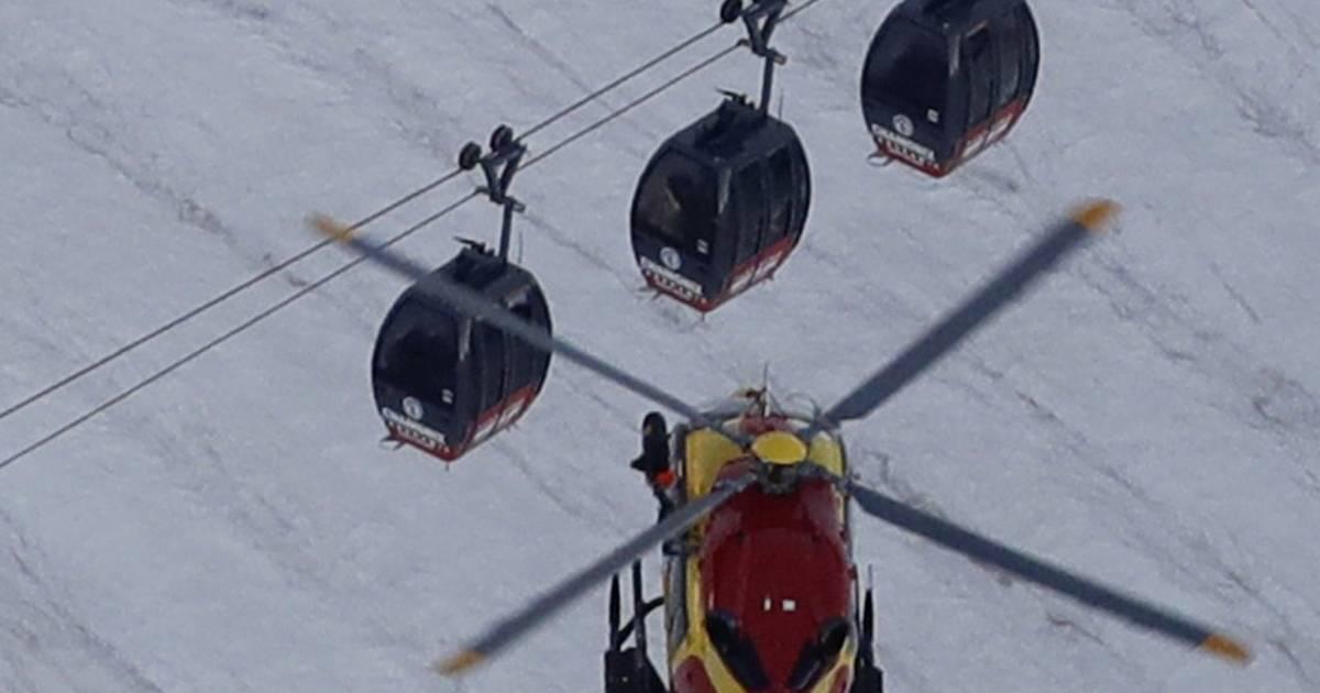 Dozens Rescued Near Chamonix, France, After Night Stranded ...