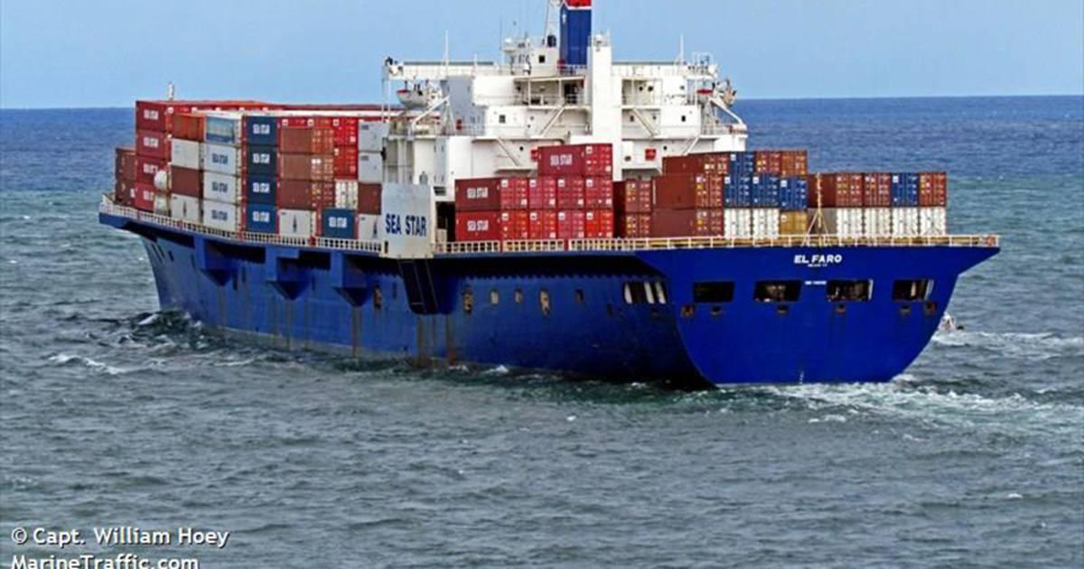 Wreckage East of Bahamas Is Sunken Cargo Ship El Faro, NTSB Confirms