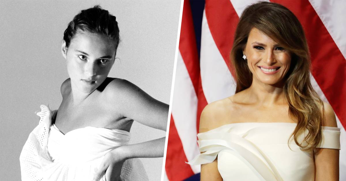 See photos of young Melania Trump's early career as a ...