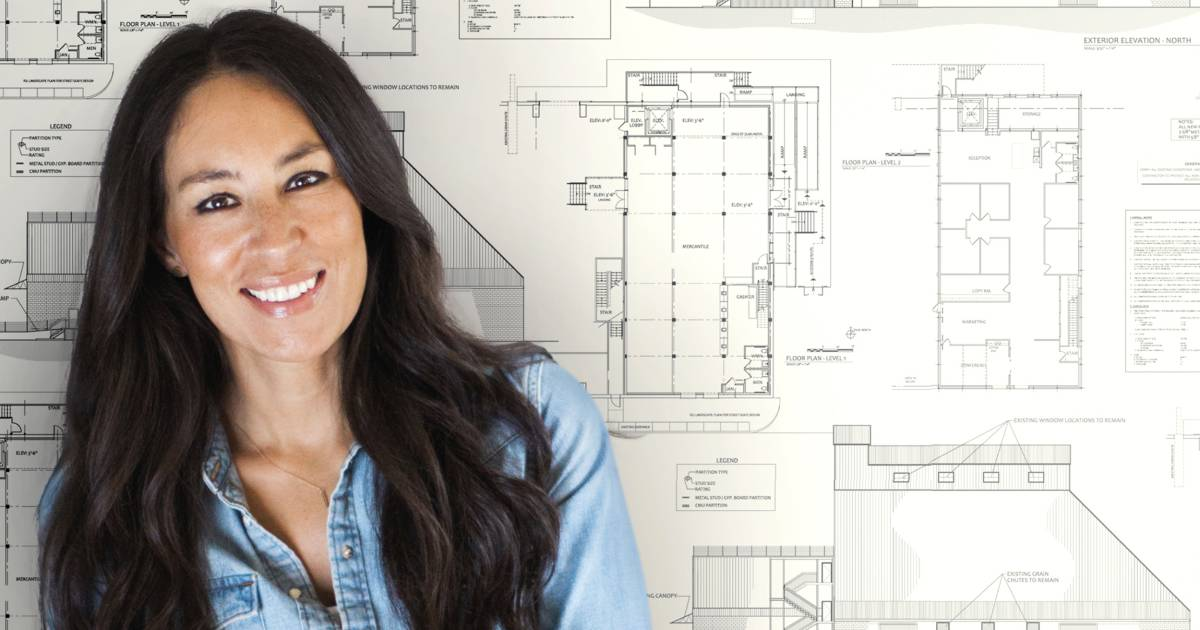 Joanna Gaines Just Launched A Wallpaper Line And We Love It
