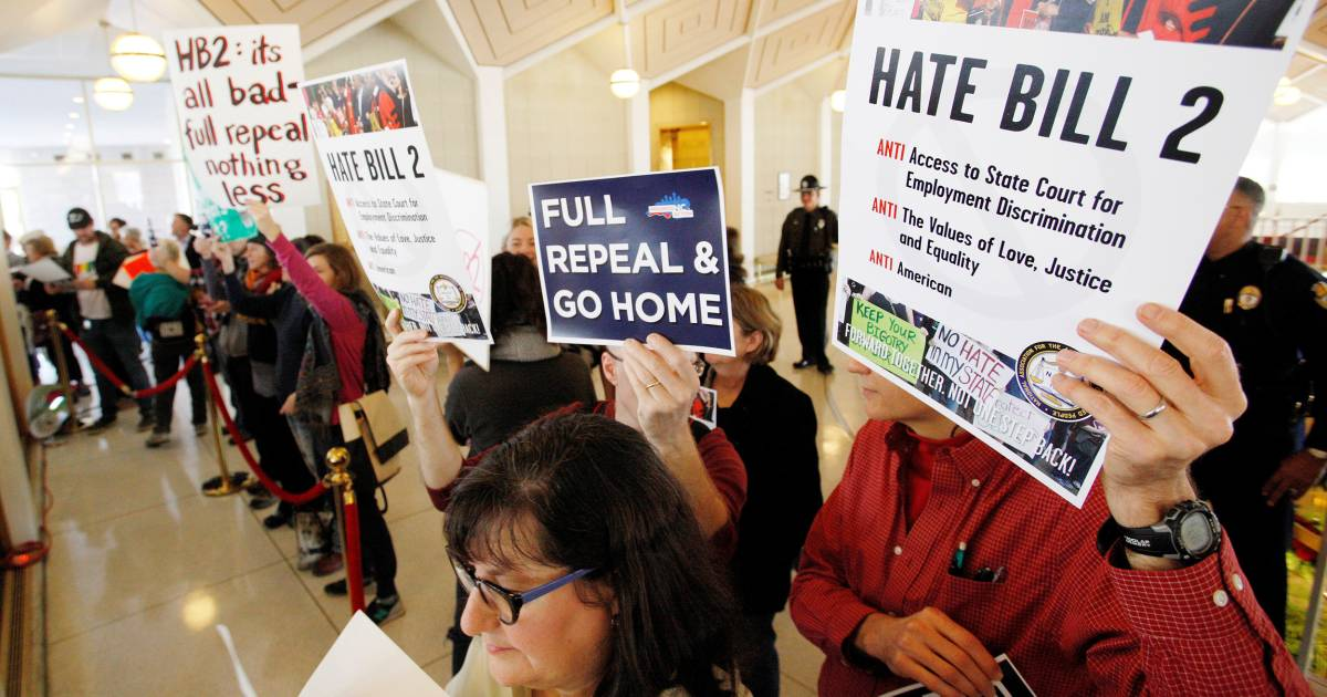 Hb2 Repeal North Carolina Overturns Controversial Bathroom Bill