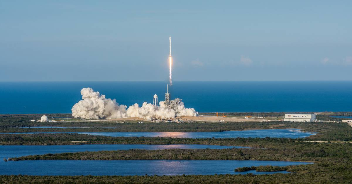 SpaceX Successfully Launches Lands Recycled Falcon 9 Rocket