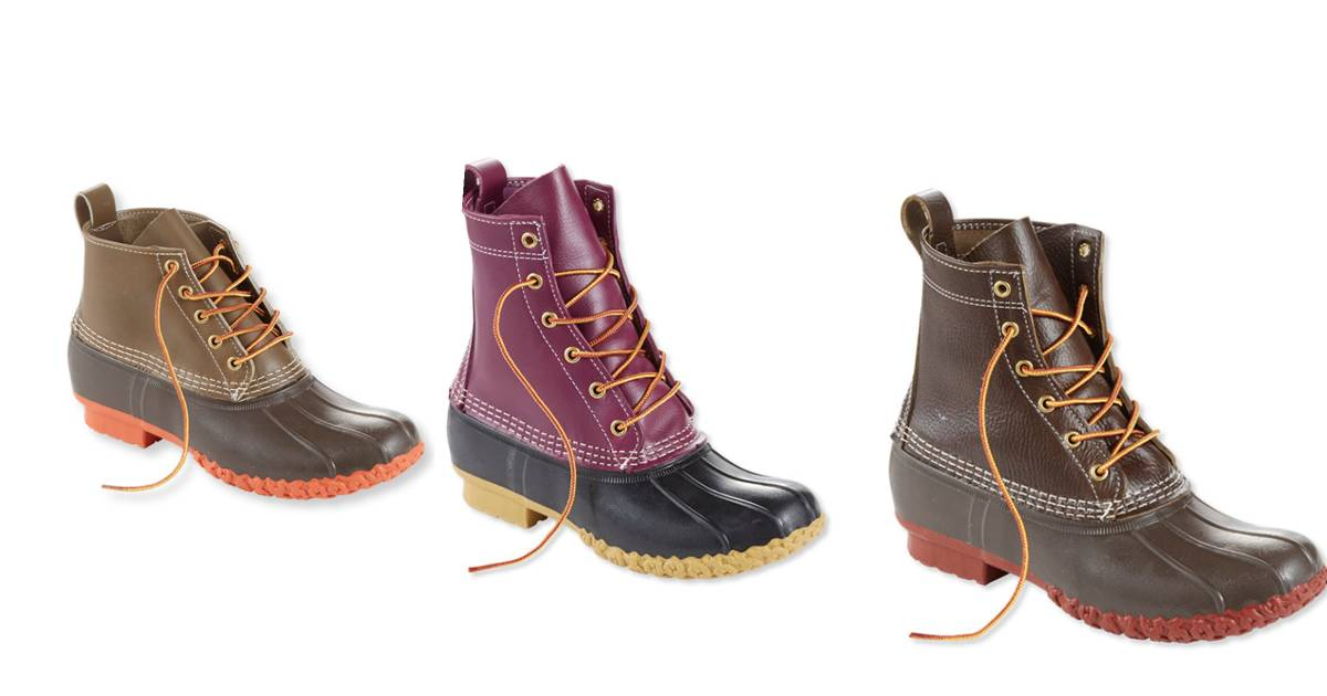 The Original L.l.bean Boot >> L.L. Bean's duck boots now come in new colors and styles