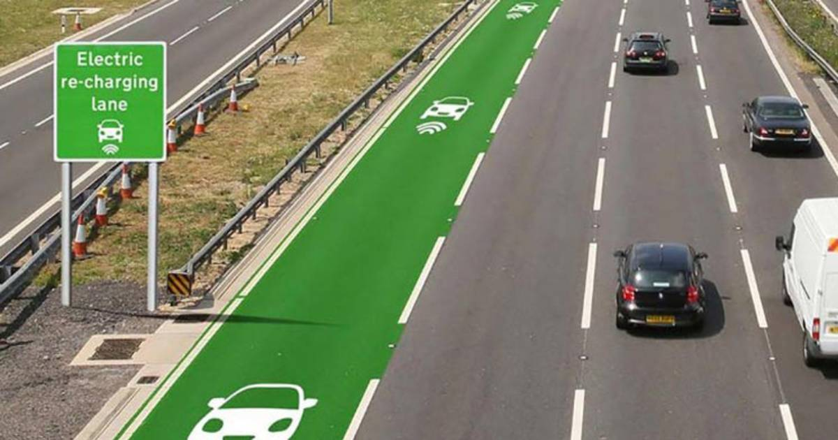 Futuristic Roads May Make Recharging Electric Cars A Thing