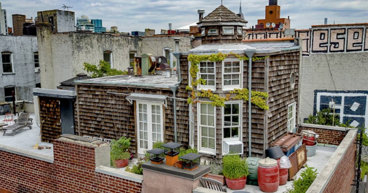 East village cottage penthouse in new york city is for sale for 70 park terrace east new york ny