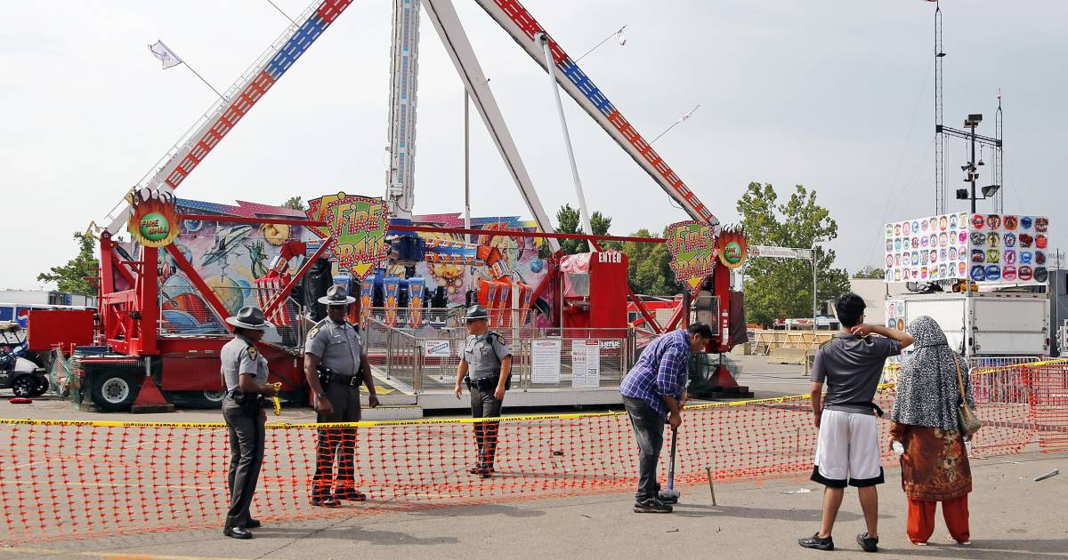 one dead several hurt in ohio state fair ride accident. Black Bedroom Furniture Sets. Home Design Ideas