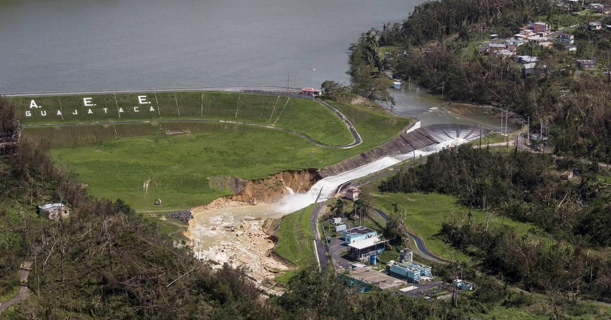 Puerto Rico's Guajataca Dam Still a Danger After Hurricane Maria