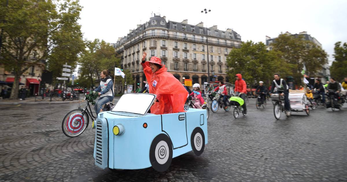 Car Free Day in Paris